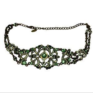 VCLM Vintage Rhinestone Choker Necklace